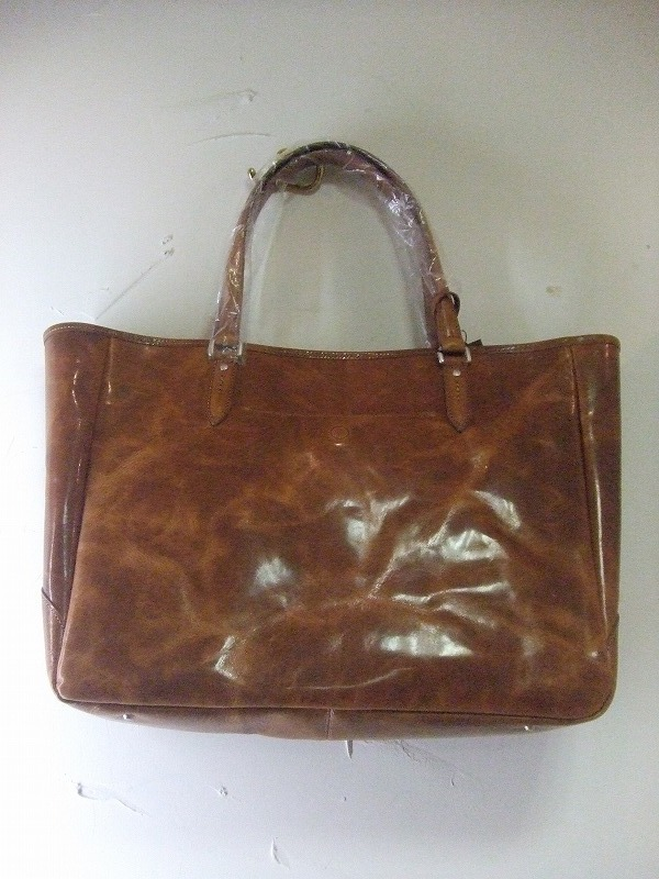 Leather Tote(BROWN)
