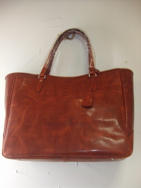 Leather Tote(RED)