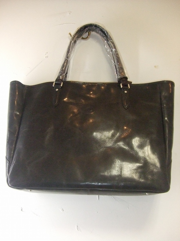 Leather Tote(BLACK)