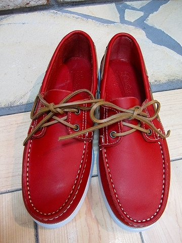 Para boots デッキシューズ(RED)