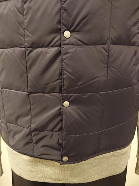 PACKABLE INNER DOWN VEST NAVY 19AW
