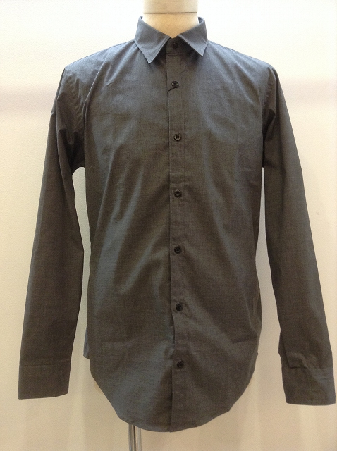 n.hoolywood STAMP SHIRTS GRAY 17AW