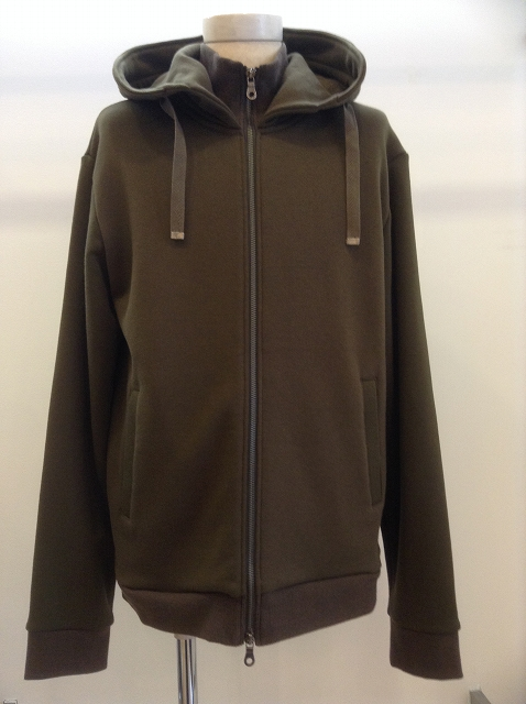 FIT MIHARAYASUHIRO High-neck Parka KHAKI 17AW