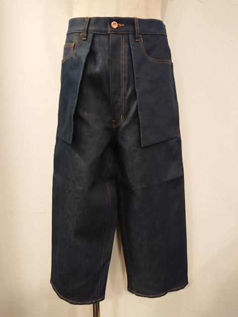 n.hoolywood COTTON/LINEN DENIM