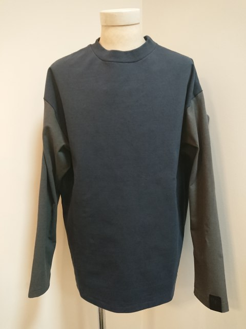n.hoolywood LONG SLEEVE T-SHIRT NAVY 19AW