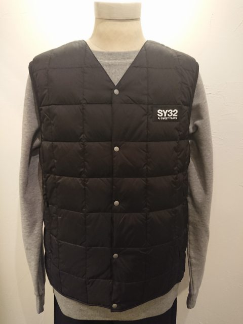 PACKABLE INNER DOWN VEST BLACK 19AW