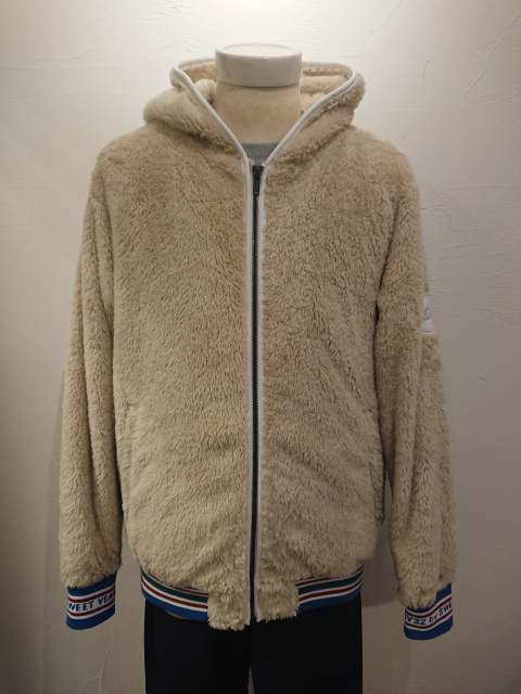 BOA FLEECE JK BEIGE 19AW