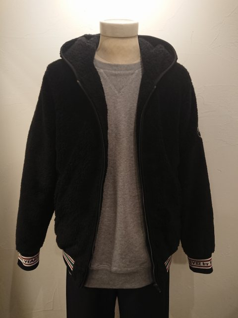 BOA FLEECE JK BLACK 19AW