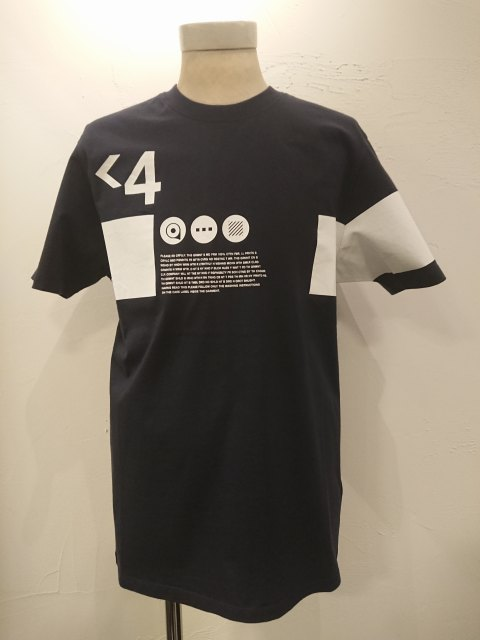 C.P.COMPANY JerseyGraphicCrewT-shirt NAVY 20SS