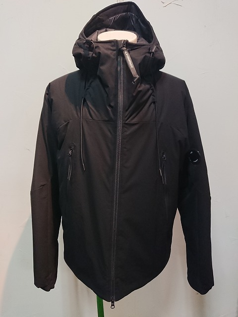 C.P.COMPANY MEDIUM JACKET PRO-TEK BLK 20AW