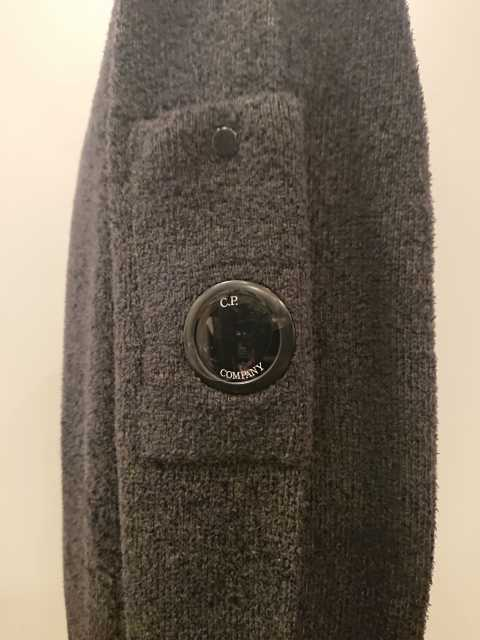 C.P.COMPANY FLEECE TURTLE KNIT 19AW 661