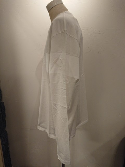 C.P.COMPANY LSGraphicCrewT-shirt WHT 20SS